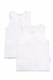 Purebaby 2 Pack Singlet - Product Mini Image