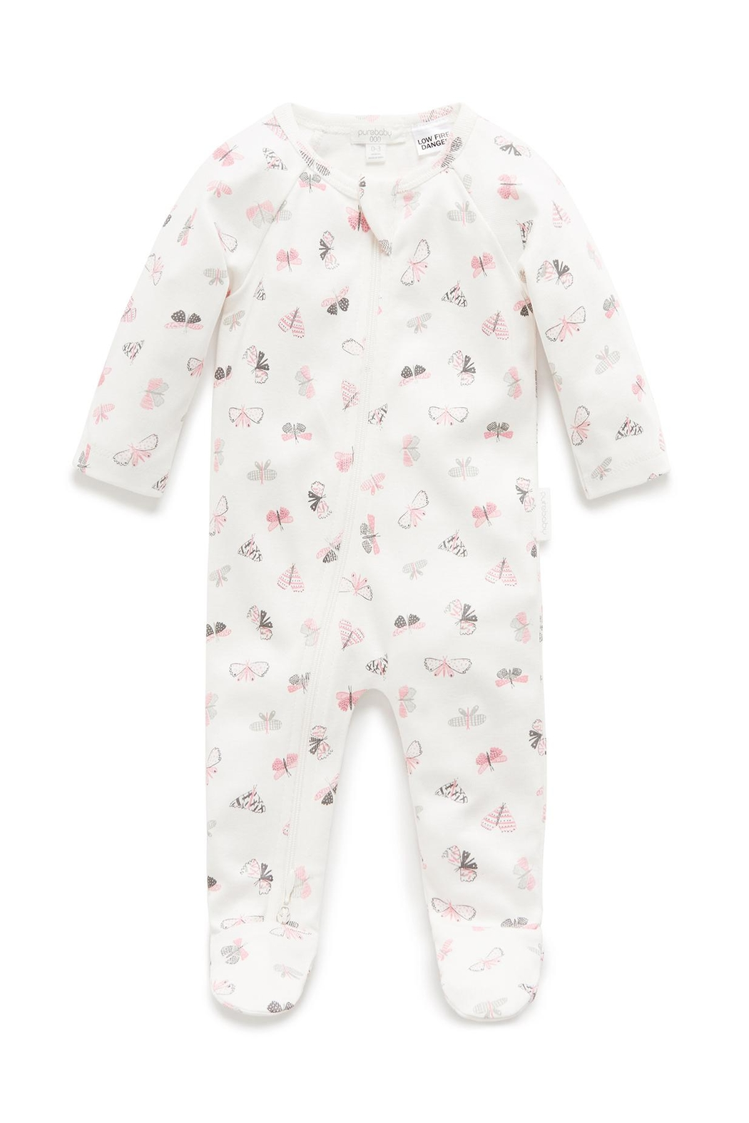 Purebaby Butterfly Growsuit - Main Image