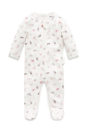 Purebaby Butterfly Growsuit - Front cropped