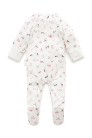 Purebaby Butterfly Growsuit - Front full body