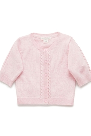 Purebaby Cable Cardigan - Product Mini Image
