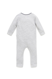 Purebaby Cloudy Night Growsuit - Front full body