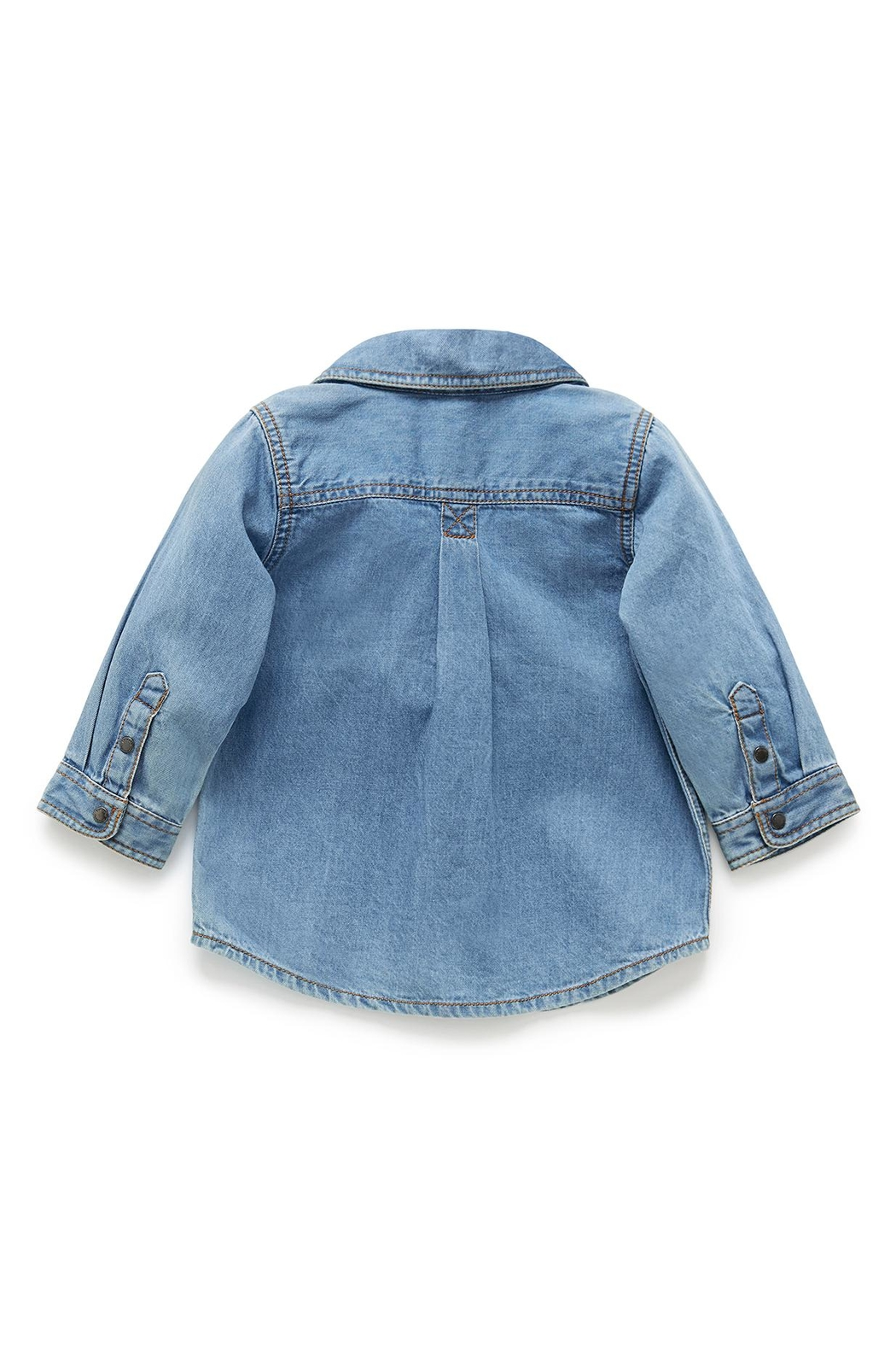 Purebaby Denim Shirt - Front Full Image
