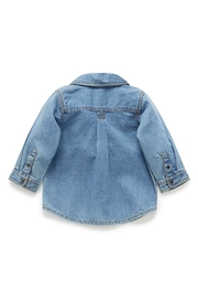 Purebaby Denim Shirt - Front full body