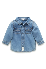 Purebaby Denim Shirt - Front cropped