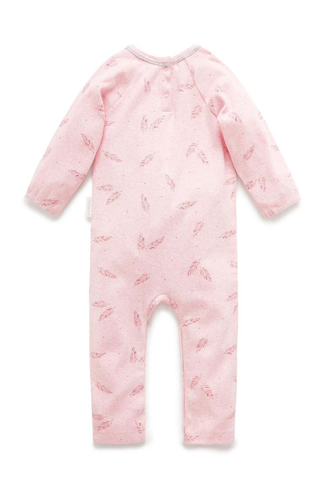 Purebaby Feather Growsuit - Front Full Image