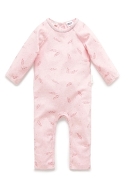 Purebaby Feather Growsuit - Front cropped