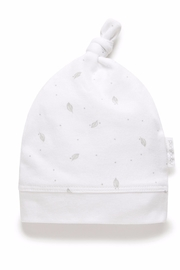 Purebaby Knot Hat - Product Mini Image