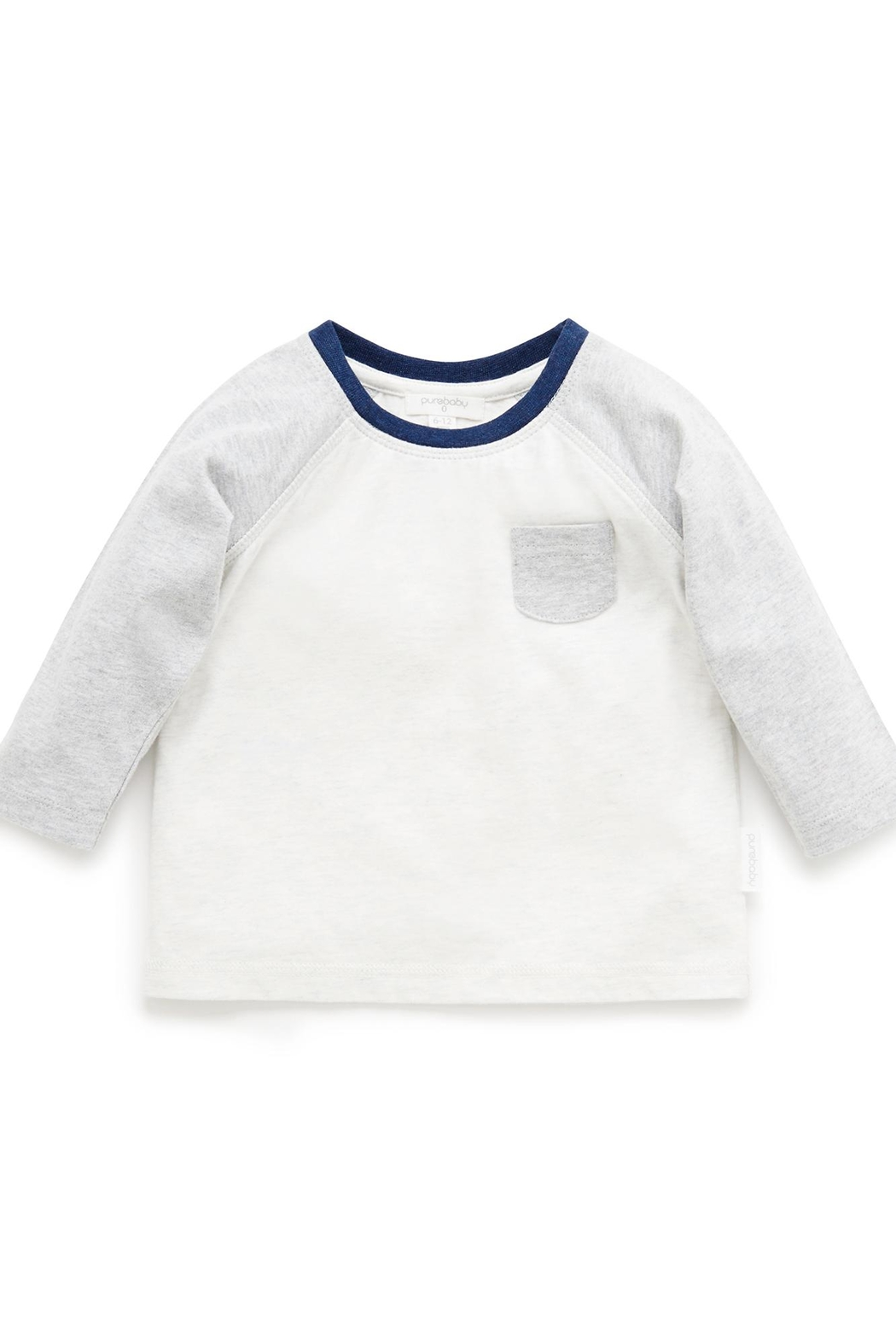 Purebaby Patch Tee - Front Cropped Image