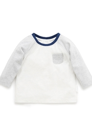 Purebaby Patch Tee - Front cropped