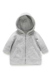 Purebaby Sparkle Hoodie - Front cropped
