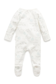 Purebaby Zip Growsuit - Front full body