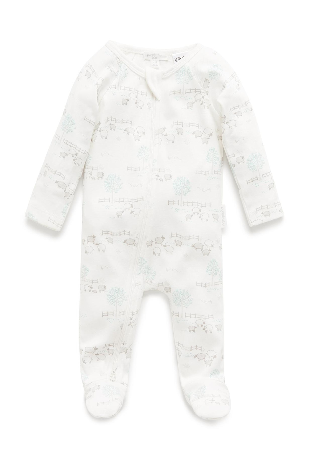 Purebaby Zip Growsuit - Main Image
