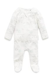 Purebaby Zip Growsuit - Front cropped