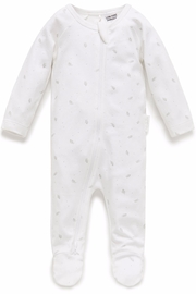 Purebaby Zip Growsuit - Product Mini Image