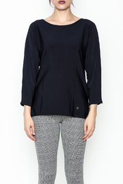 Purificacion Garcia Side Slit Sweater - Front full body