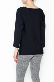 Purificacion Garcia Side Slit Sweater - Back cropped