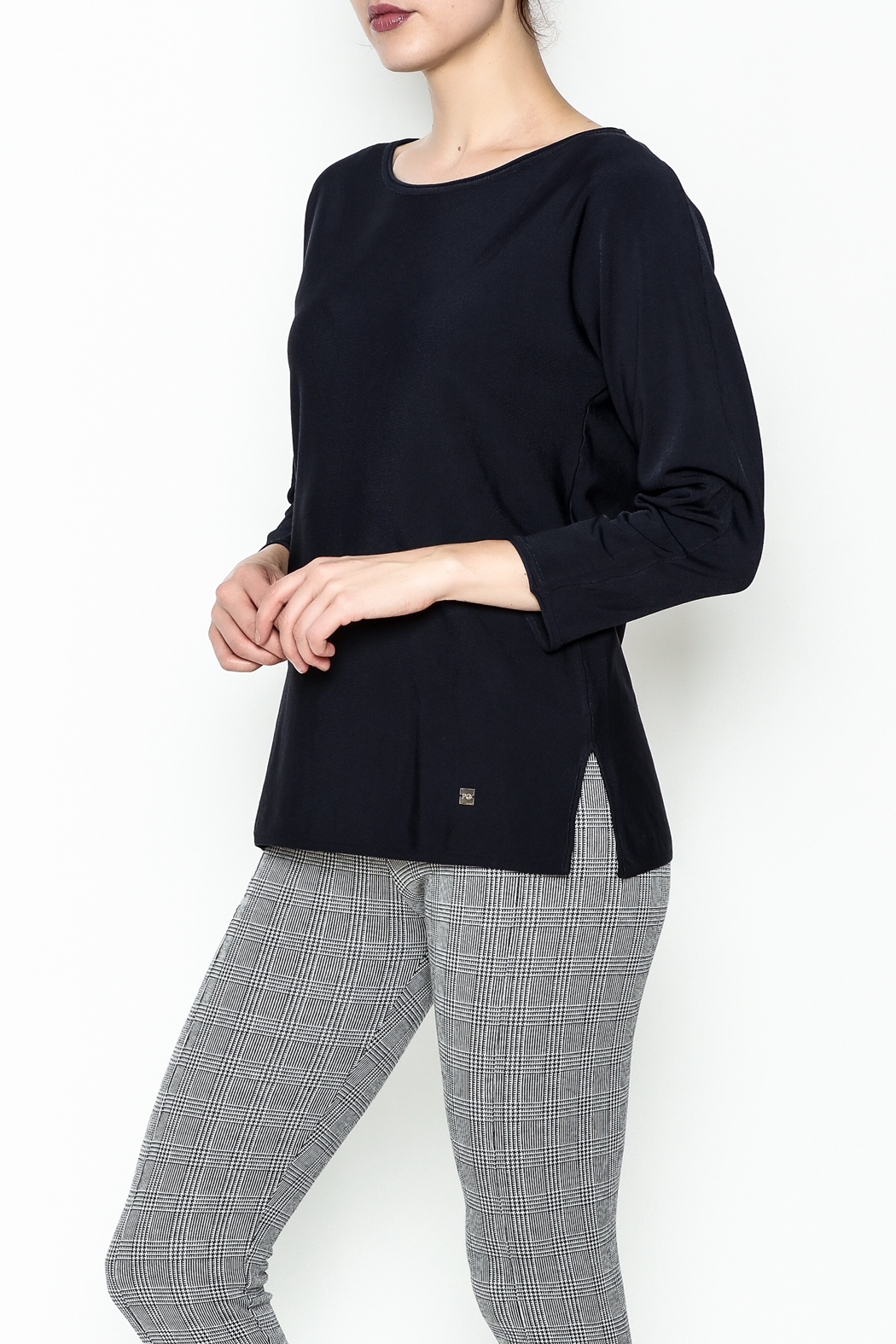 Purificacion Garcia Side Slit Sweater - Front Cropped Image