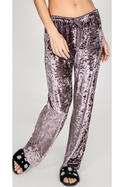 PJ Salvage Purple Crushed Velvet - Side cropped