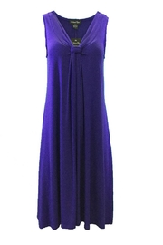 Michael Tyler Collections Purple Dress - Product Mini Image