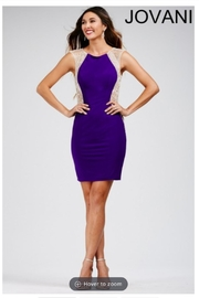 Jovani Purple Embellished Dress - Product Mini Image