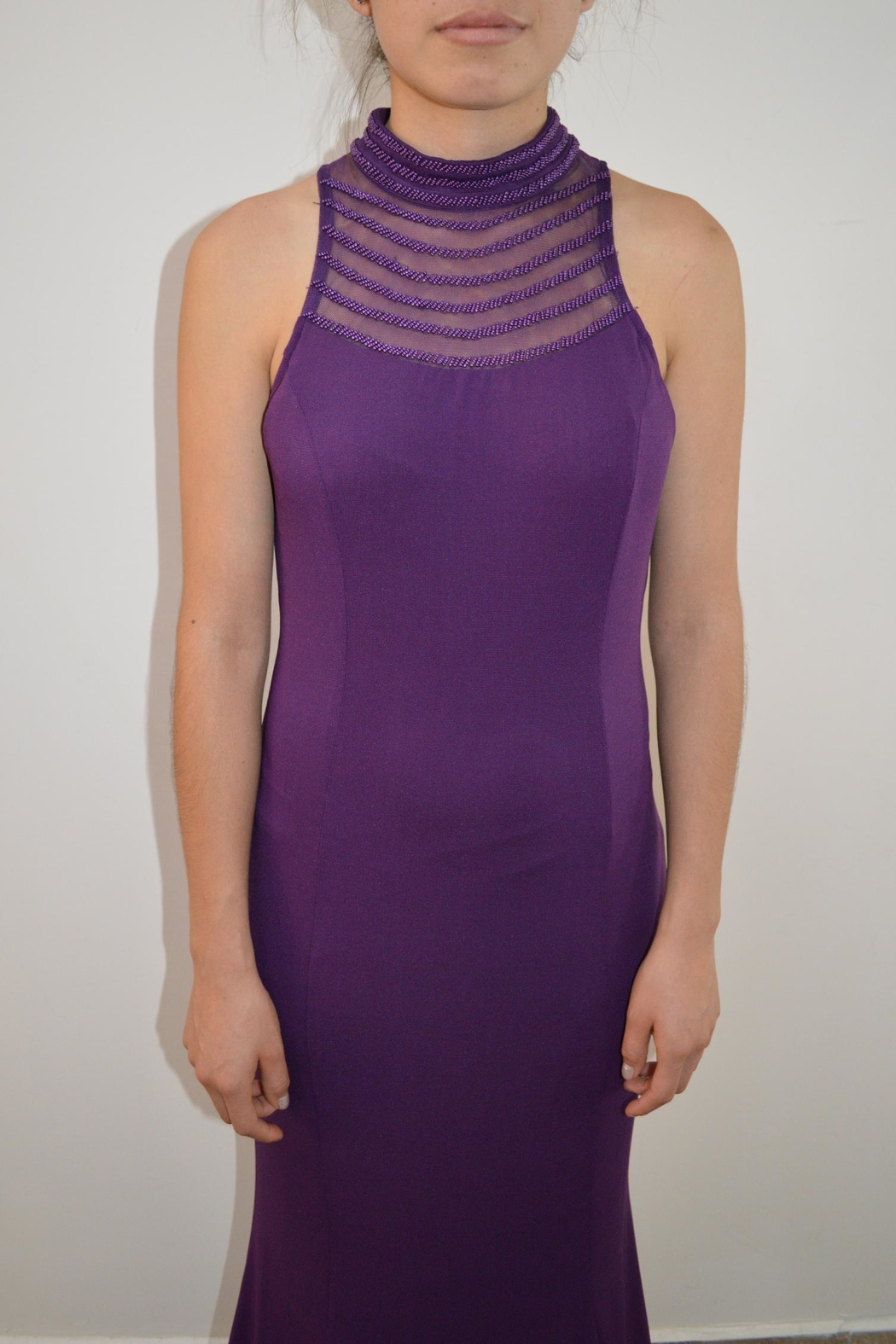 the clothing company Purple Formal Dress - Main Image