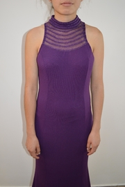 the clothing company Purple Formal Dress - Front cropped