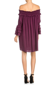 Miss Me Purple Off-Shoulder Dress - Alternate List Image