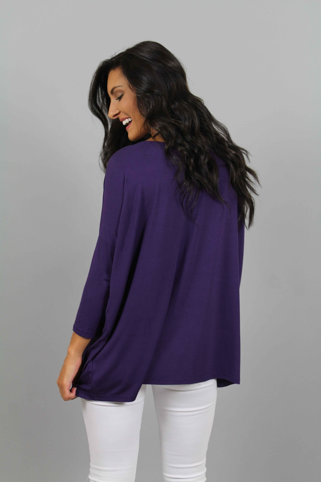 Piko  Purple Top - Side Cropped Image
