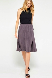 Gentle Fawn Purple Pleated Skirt - Product Mini Image