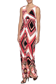 Purple Rain Chevron Floral Maxi - Product Mini Image