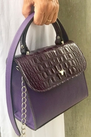 Torini Bags Purple Satchel Lourdes - Product Mini Image