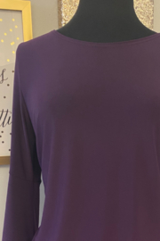 Kindred Mercantile  Purple slinky dress - Product Mini Image