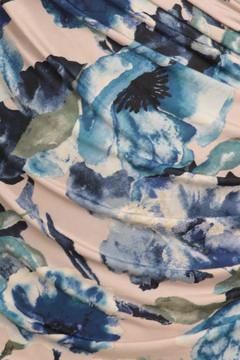 Shoptiques Product: Blue Watercolor Dress