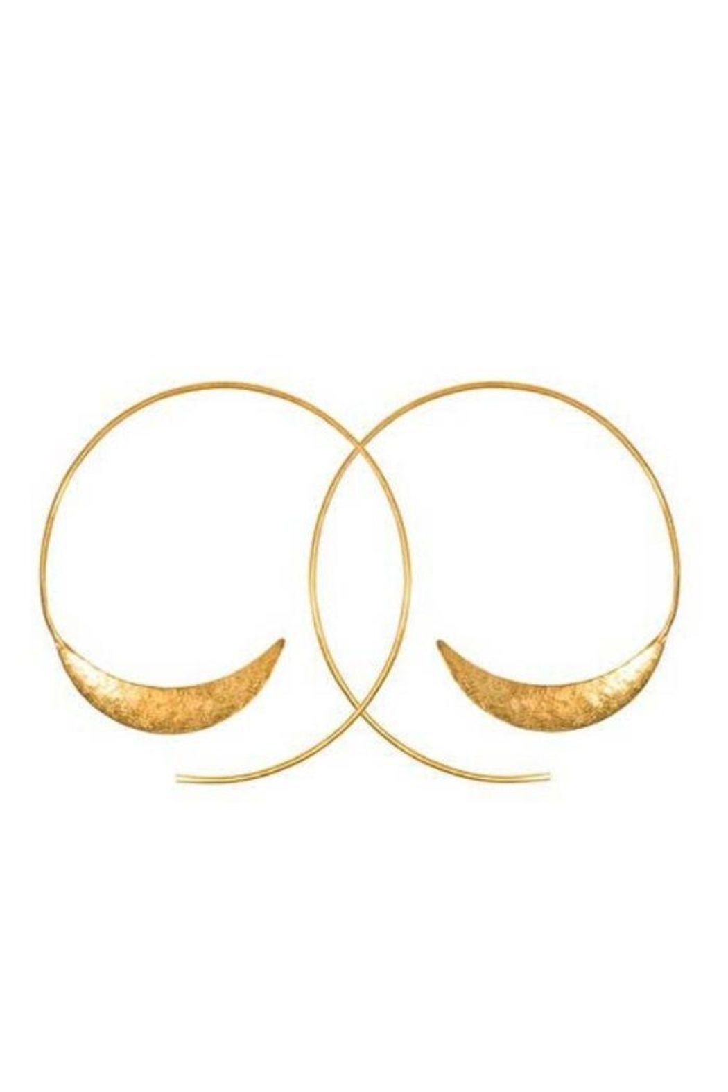 Purpose Jewelry Solstice Hoop Earrings - Front Cropped Image