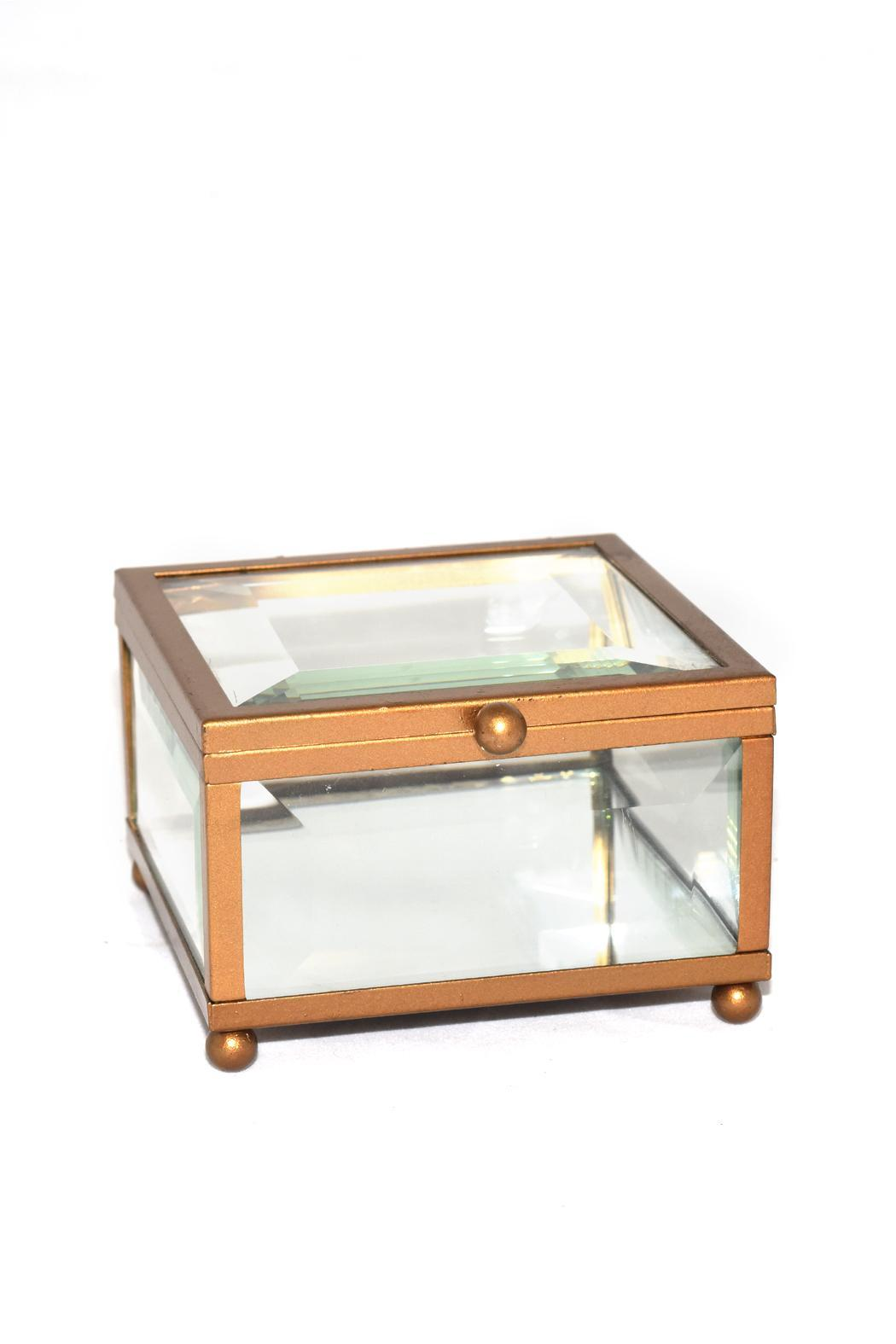 Purseonality Beveled Glass Box - Front Full Image