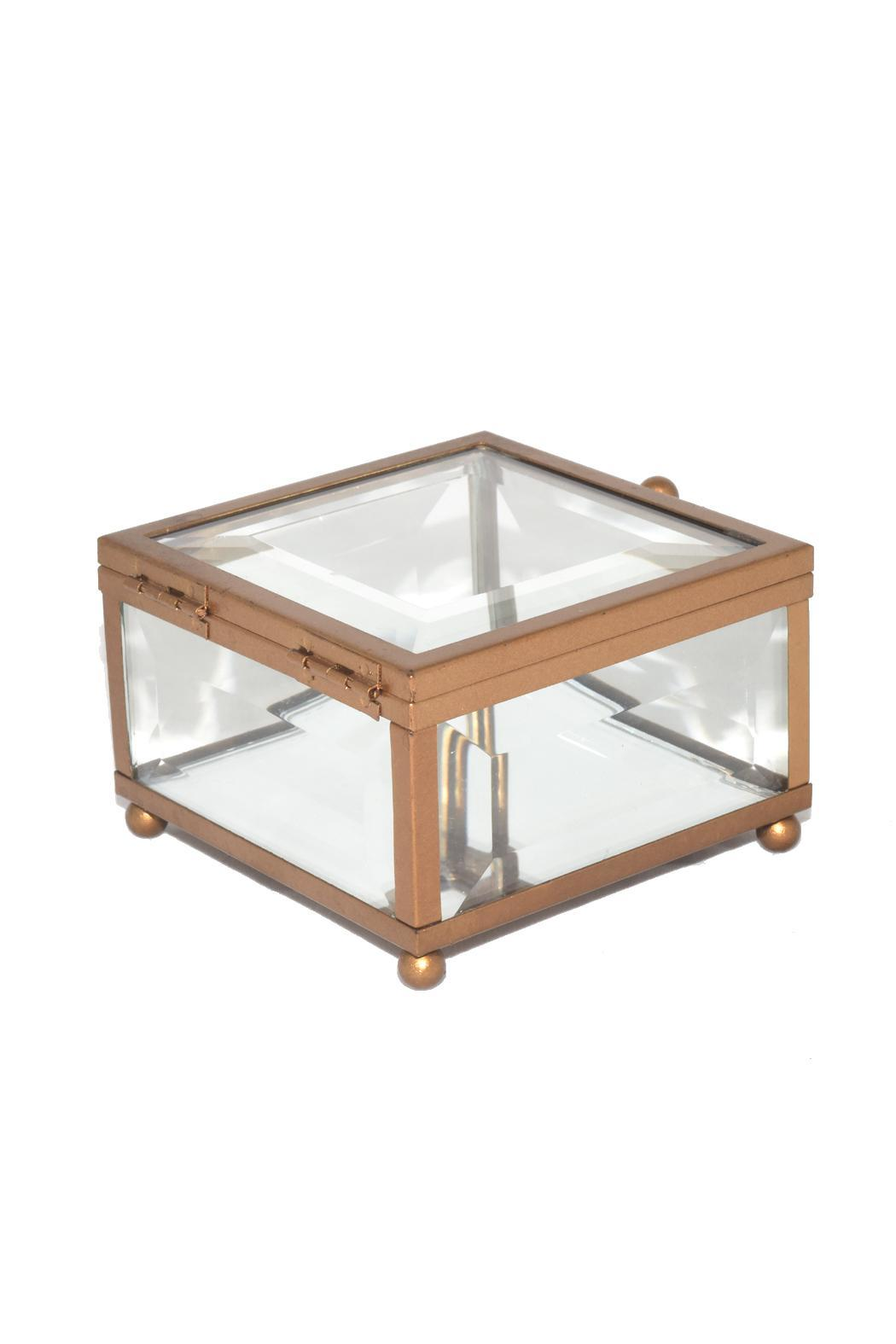 Purseonality Beveled Glass Box - Back Cropped Image