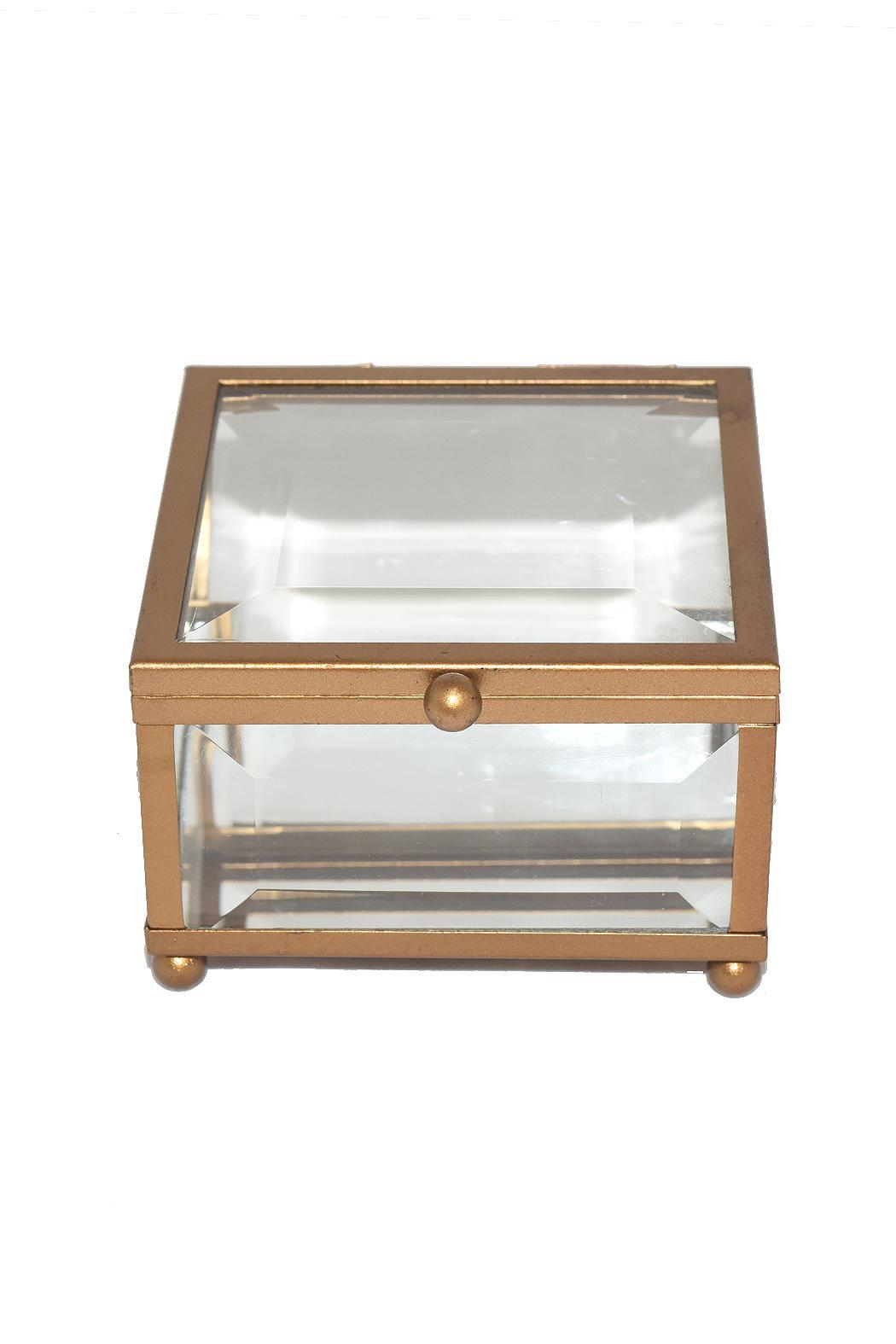 Purseonality Beveled Glass Box - Front Cropped Image