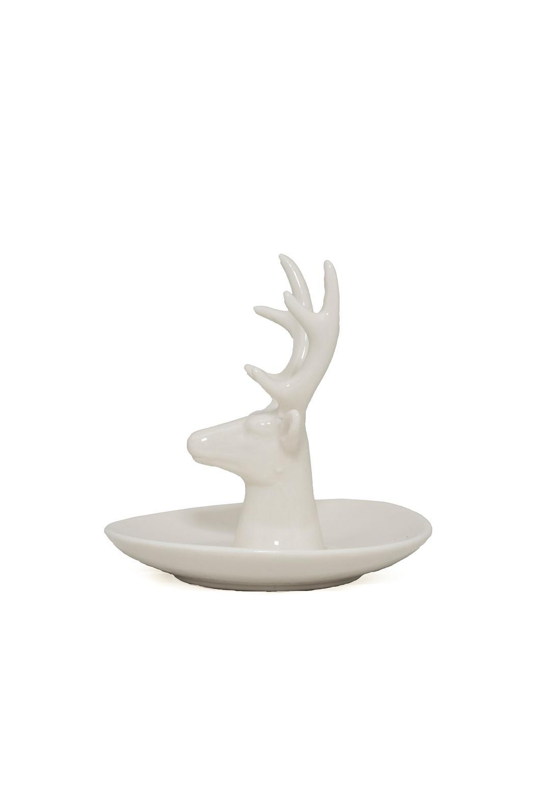 Purseonality Deer Ring Holder - Side Cropped Image