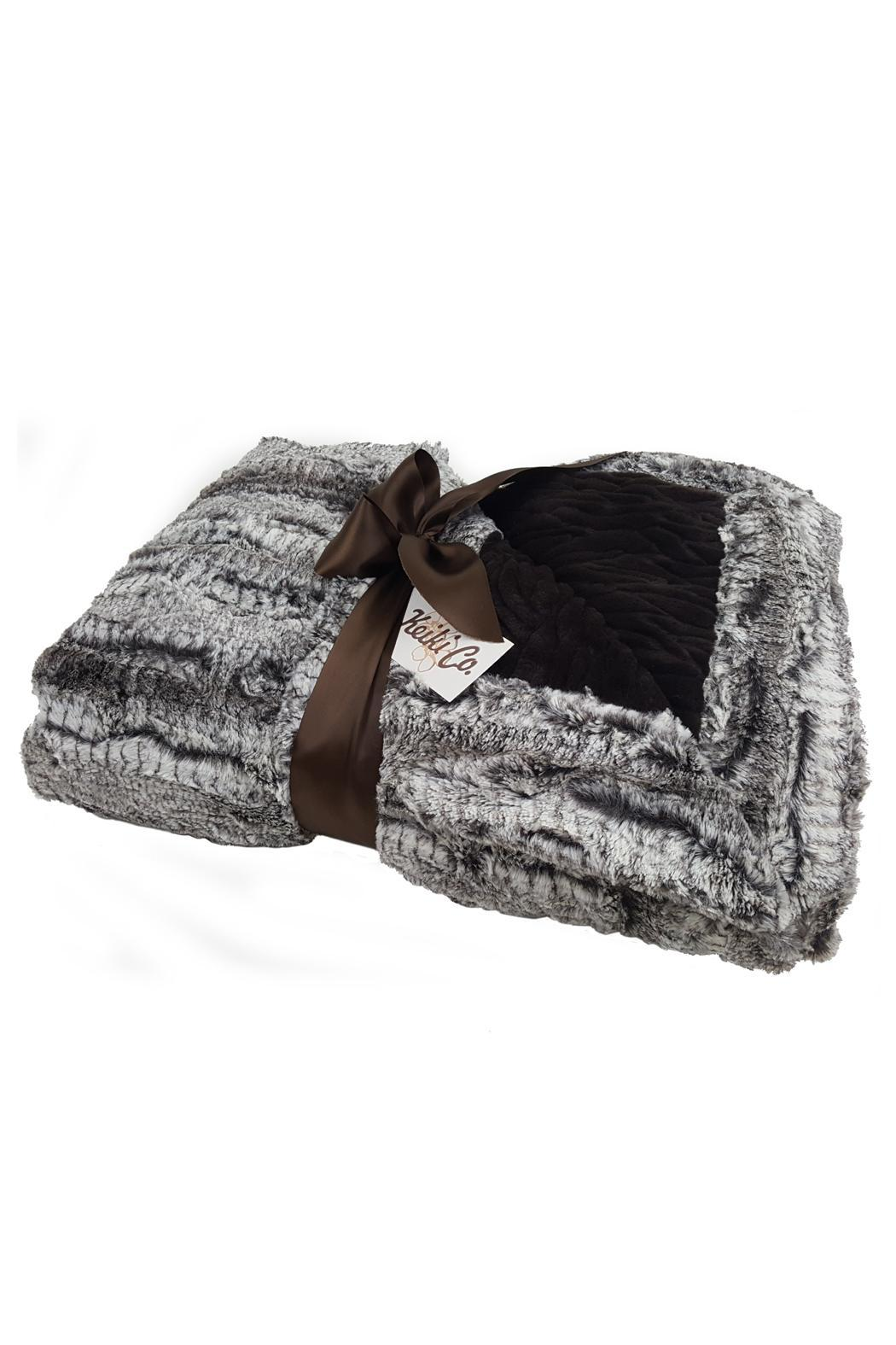 Purseonality Luxury Couture Throw - Front Full Image