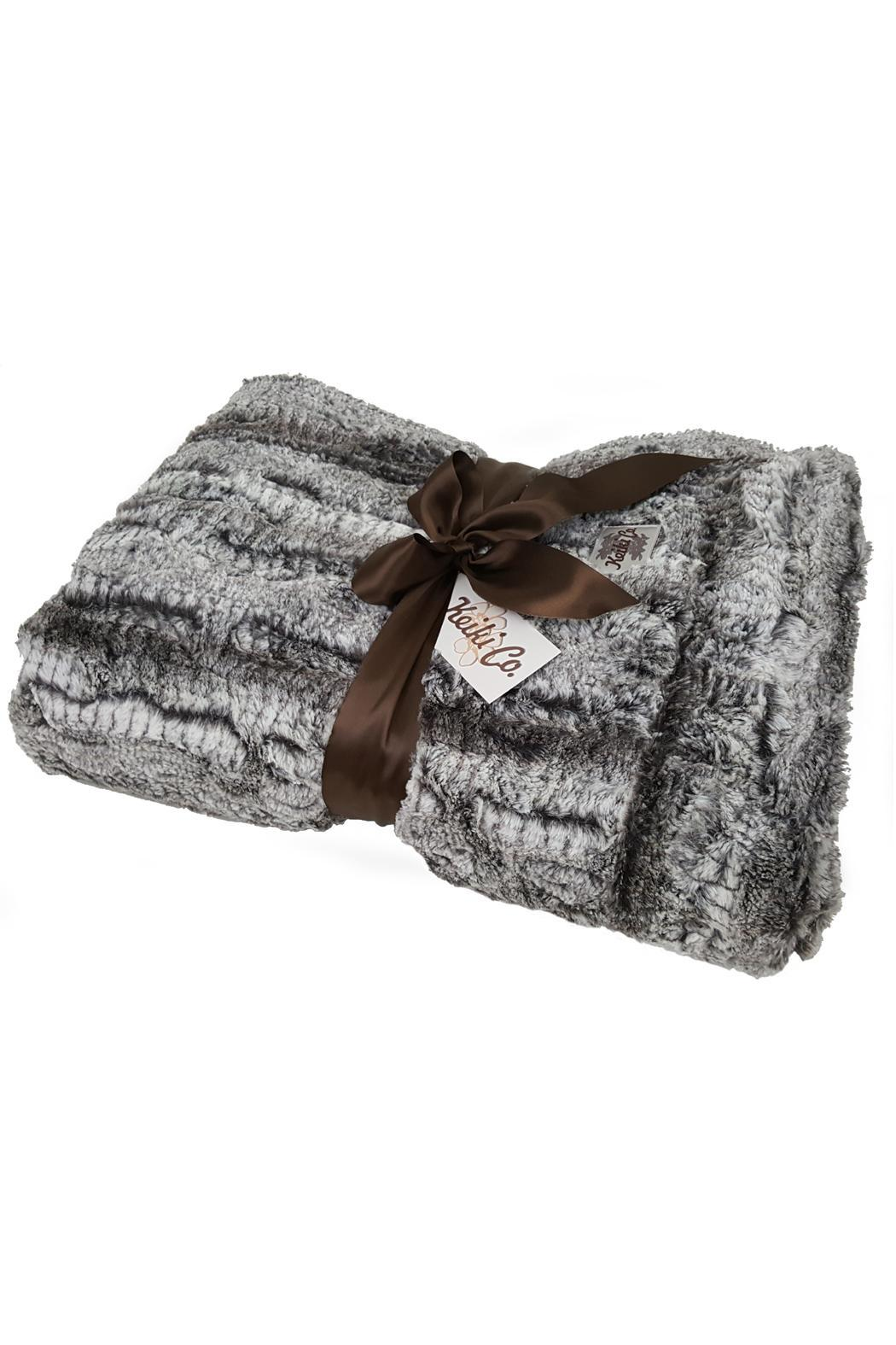 Purseonality Luxury Couture Throw - Main Image