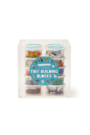 Cupcakes & Cartwheels Puzzle Pods: Mystery Animal Tiny Building Blocks - Other