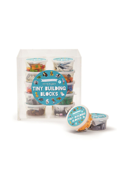Cupcakes & Cartwheels Puzzle Pods: Mystery Animal Tiny Building Blocks - Product List Image