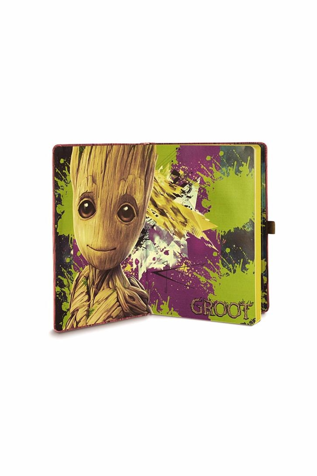 Pyramid America Baby Groot Notebook - Side Cropped Image