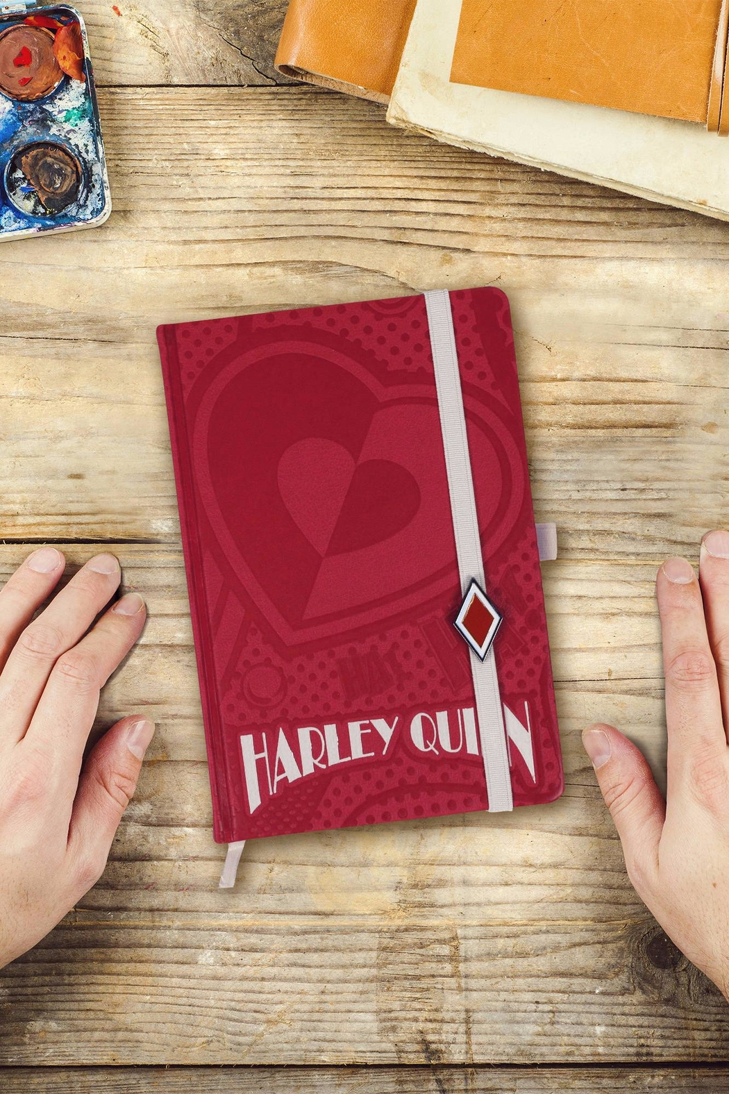 Pyramid America Harley Quinn Notebook - Front Full Image