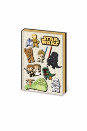 Pyramid America Kawaii Star-Wars Notebook - Product Mini Image