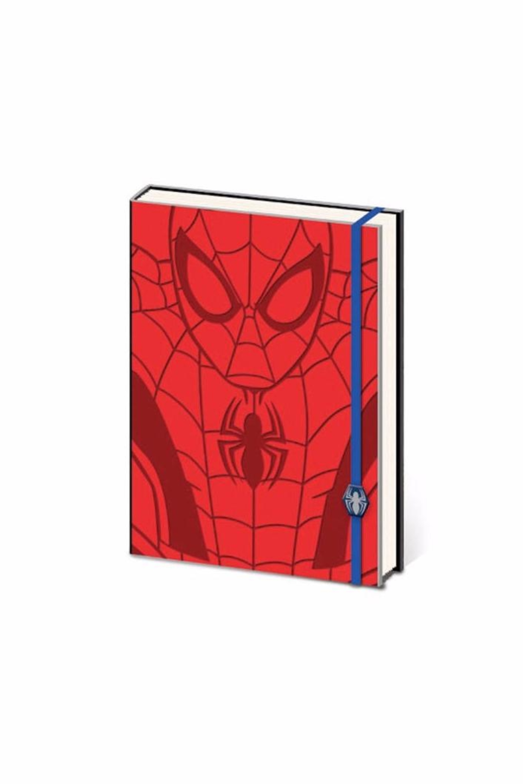 Pyramid America Spiderman Notebook - Front Cropped Image
