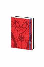 Pyramid America Spiderman Notebook - Front cropped