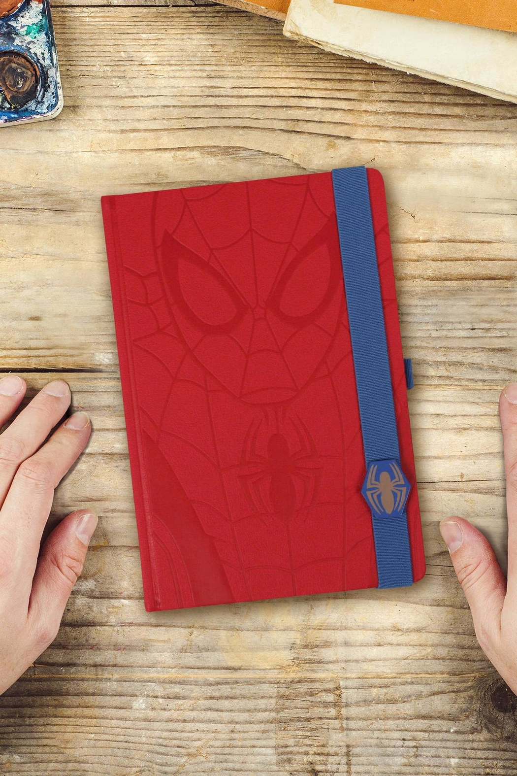 Pyramid America Spiderman Notebook - Front Full Image