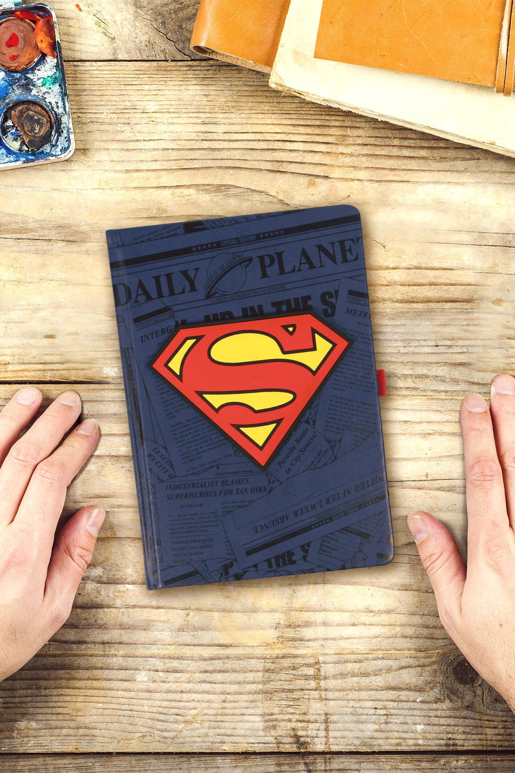 Pyramid America Superman Notebook - Front Full Image